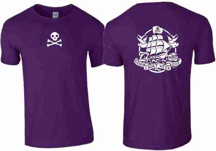 Childs T-Shirt (Dark Purple)